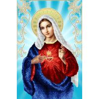 """Схема для вышивки бисером иконы """"Непорочное Сердце Марии"""" (Схема или набор)"""