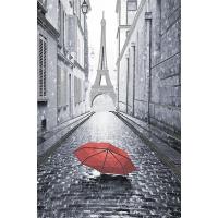 """Схема для вышивки бисером """"Парижский дождик (красный)"""" (Схема или набор)"""