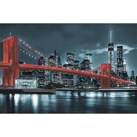 """Схема для вышивки бисером """"Бруклинский мост (красный)"""" (Схема или набор)"""