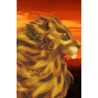 """Схема для вышивки бисером """"Царь зверей"""" (Схема или набор)"""