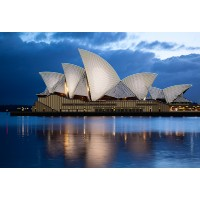 """Схема для вышивки бисером """"Сиднейская Опера"""" (Схема или набор)"""