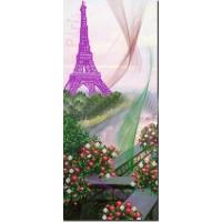 """Панно для вышивки бисером """"Париж"""". (Схема или набор)"""