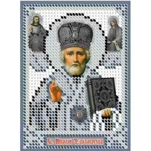 Икона святого николая вышивка бисером