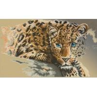 Схема для вышивки бисером «Леопард» (Схема или набор)