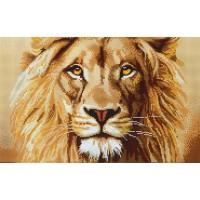 Величественный лев (схема или набор)