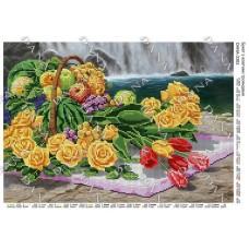 """Схема для вышивки бисером """"Букет с желтыми розами"""" (Схема или набор)"""