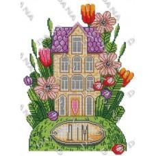 """Схема для вышивки бисером Оберег """"Мой Дом"""" (Схема или набор)"""
