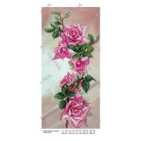 """Панно для вышивки бисером """"Панно розовых роз"""" (Схема или набор)"""