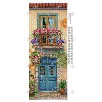 """Панно для вышивки бисером """"Цветущий балкончик"""" (Схема или набор)"""