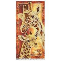 """Панно для вышивки бисером """"Жирафы"""" (Схема или набор)"""