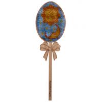 Набор для вышивки бисером по дереву «Яйцо FLK-035»
