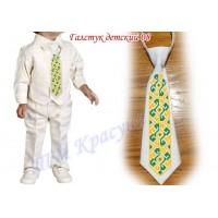 Детский галстук для мальчика 08