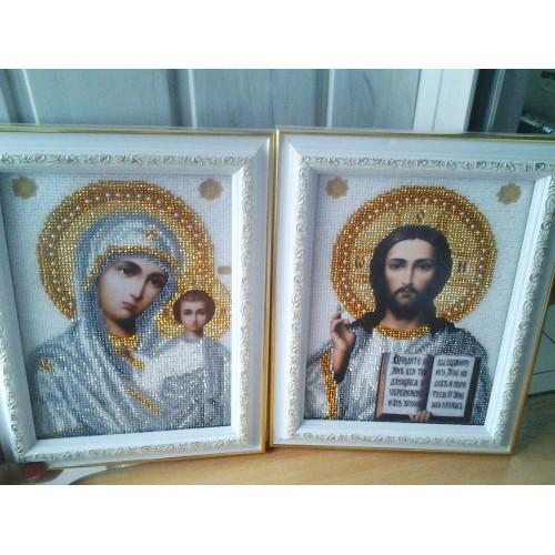 Вышивка бисером иконы венчальные пары