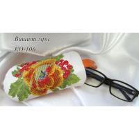 Очечник для вышивки бисером или нитками КО-106 (Схема или набор)