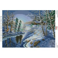 """Схема для вышивания бисером """"Зима"""" (Схема или набор)"""