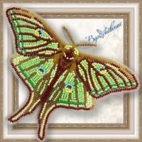 Набор магнит- бабочка для вышивки бисером «Грельсия Изабеллы»