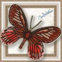 """Набор магнит- бабочка для вышивки бисером """"Eurytides Ariarathes Gayi"""""""