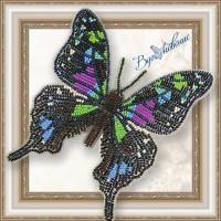 Набор магнит- бабочка для вышивки бисером «Графия Веска»