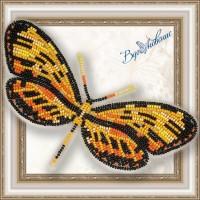 Набор магнит- бабочка для вышивки бисером «Механитис Менапис».