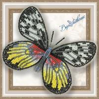 Набор магнит- бабочка для вышивки бисером «Делия Тисбе».