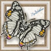 Набор магнит- бабочка для вышивки бисером «Харакс Нобилис».
