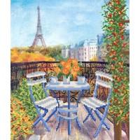 """Схема для вышивки бисером """"Завтрак в Париже"""" (Схема или набор)"""