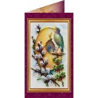 Набор для вышивки бисером открытки «Пасхальный сюжет 5».