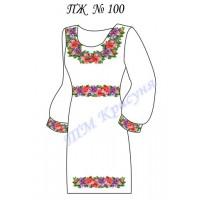 Заготовка для женского платья ПЖ-100 8804848fc445d