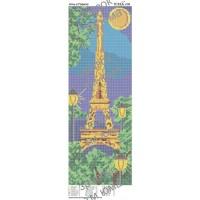 """Панно для вышивки бисером""""Ночь в Париже"""" (Схема или набор)"""