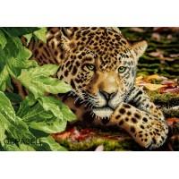 "Схема под вышивку бисером ""Леопард"" (схема или набор)"