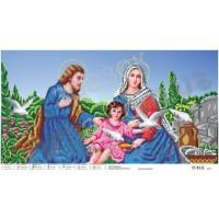 """Панно для вышивки бисером """"Святое Семейство"""" (Схема или набор)"""