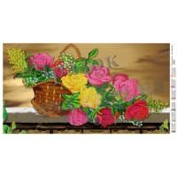 """Панно для вышивки бисером """"Волшебные розы"""" (Схема или набор)"""
