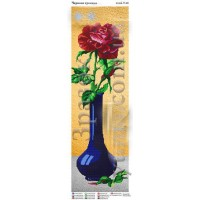 """Панно для вышивки бисером """"Красная роза"""" (Схема или набор)"""