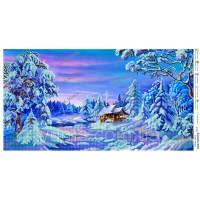 """Панно для вышивки бисером """"Сказочная зима"""" (Схема или набор)"""
