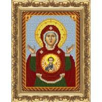 Знамение Пресвятой Богородицы (схема или набор)