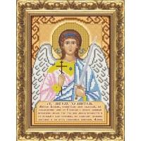 """Схема иконы под вышивку бисером """"Святой Ангел Хранитель (с молитвой)"""" (схема или набор)"""