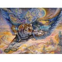 """Схема для вышивки бисером """"На крыльях мечты"""" (Схема или набор)"""