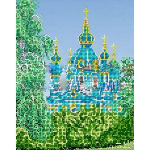 Церковь из бисера схема фото 347