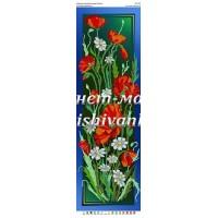 Панно для вышивки бисером «Цветы» (Схема или набор)