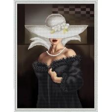 """Схема для вышивки бисером """"Прекрасная незнакомка"""" (схема или набор)"""