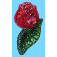 Набор для вышивания броши (подвеса) «ТЮЛЬПАН (КРАСНЫЙ) АБН-022»