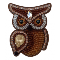Набор для вышивания броши (подвеса) «АБН-036 СОВУШКА»