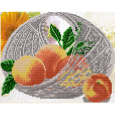 Персики в хрустале
