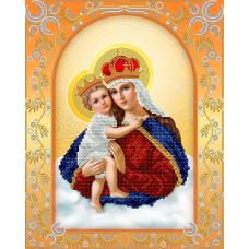 """Схема вышивки бисером иконы """"Богородица с младенцем"""" (Схема или набор)"""