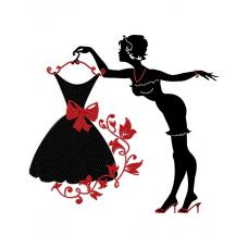 """Схема для вышивки бисером """"Модница"""" (Схема или набор)"""