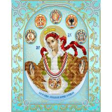 """Схема вышивки бисером иконы """"Богородица Слободская Царица Козацкая"""" (Схема или набор)"""