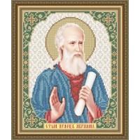 """Икона для вышивки бисером """"Святой праотец Авраам""""(Схема или набор)"""