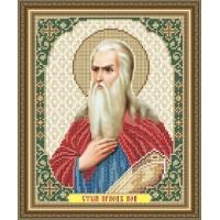 """Икона для вышивки бисером """"Святой праотец Ной"""" (Схема или набор)"""