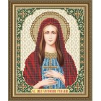 """Икону для вышивки бисером """"Святая мученица Серафима Римская"""" (Схема или набор)"""