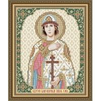 """Икона для вышивки бисером """"Святой благоверный князь Глеб"""" (Схема или набор)"""